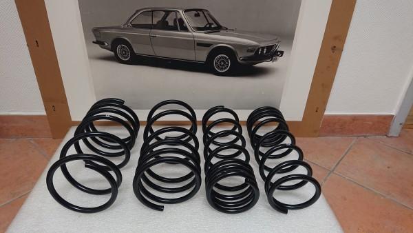 Federnsatz / Sportfedernsatz 40/20 mm BMW Baureihe E9 vorne/hinten komplett NEU!