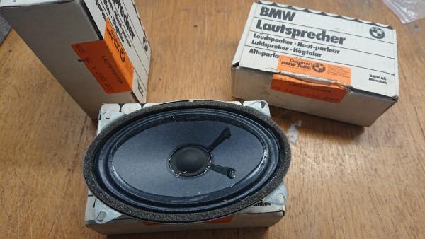 Lautsprecher Oval 4Ohm 6W orig. BMW NEU E21 E12 E23 E24 E26!