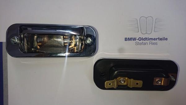 Kennzeichenleuchte BMW E10 15-2002 tii E9 2,5-3,0 CSi 2000 Coupe mit E-Prüfzeichen NEU !