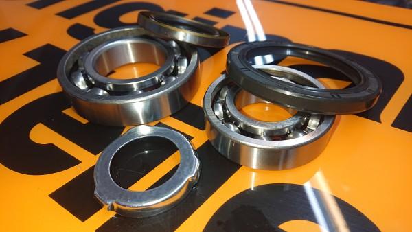 Radlagersatz Hinterachse BMW Baureihen E3 E9 E12 E23 E24 -30X62/40X80