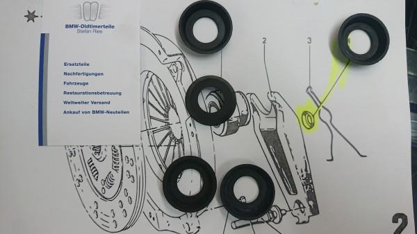Dichtring Ausrückhebel Kupplung /02 E3 E9 NK E12 orig. BMW NEU !