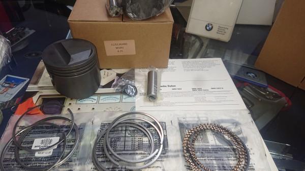 Kolbensatz (4 Stück) Maß 89,23 (+0,25) BMW E10 tii E12 5er 520i inkl. Kolbenringen neu!!