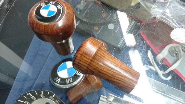 Schaltknauf Holz steckbare Version BMW Baureihe E30 E34 E28 E36 E21 E24 topp !