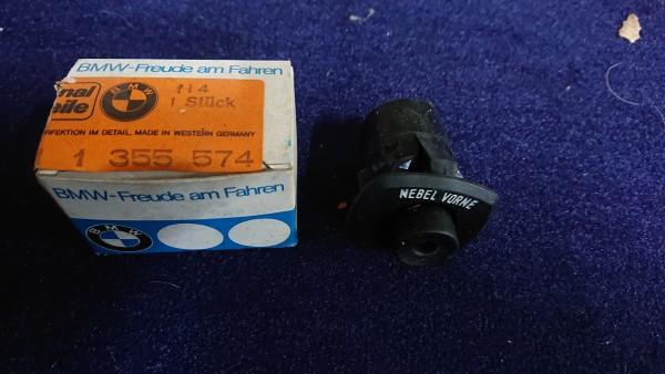 Schalter Nebelscheinwerfer vorne BMW Baureihe E12 518-528 orig. NEU!